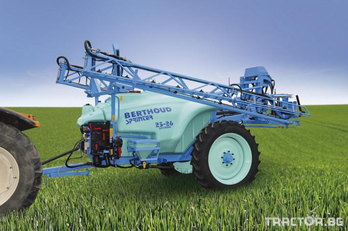Пръскачки Berthoud Прикачна пръскачка Sprinter 0 - Трактор БГ