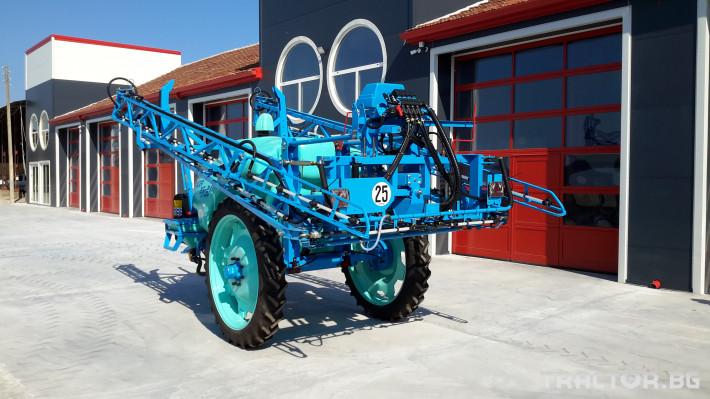 Пръскачки Berthoud Прикачна пръскачка Sprinter 3 - Трактор БГ