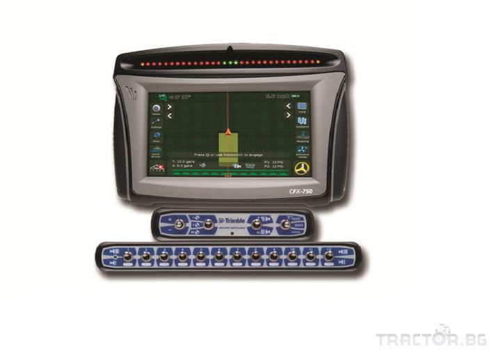 Прецизно земеделие Trimble FieldIQ - система за контрол на секциите и нормата на пръскане 0