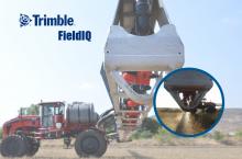 Trimble FieldIQ - система за контрол на материалите