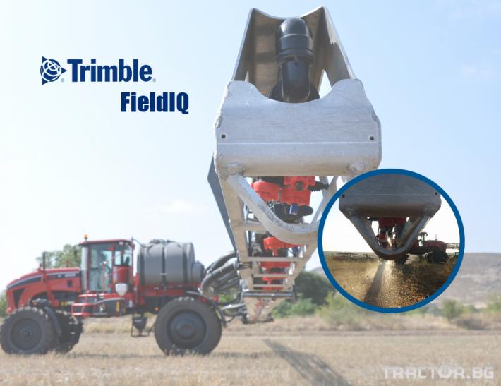 Прецизно земеделие Trimble FieldIQ - система за контрол на материалите 0 - Трактор БГ