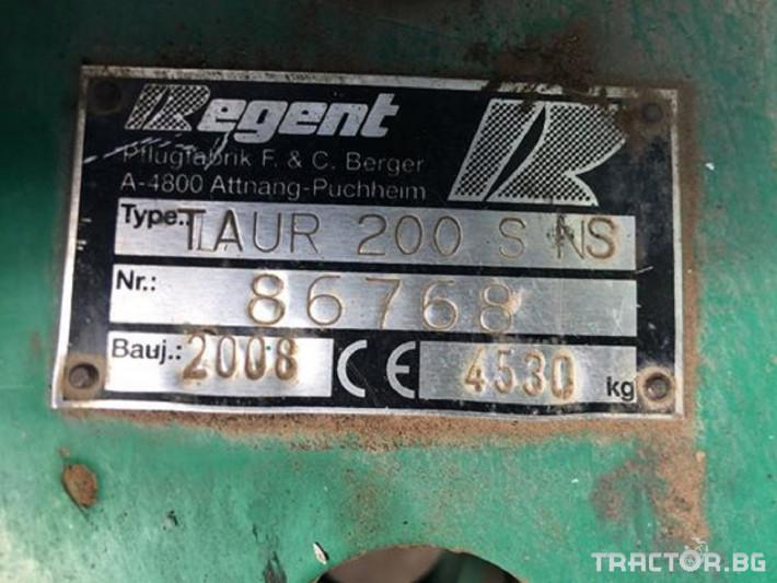 Плугове Regent Taurus 200S NS 2 - Трактор БГ