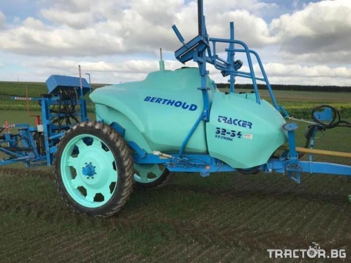 Пръскачки BERTHOUD Tracker 0 - Трактор БГ